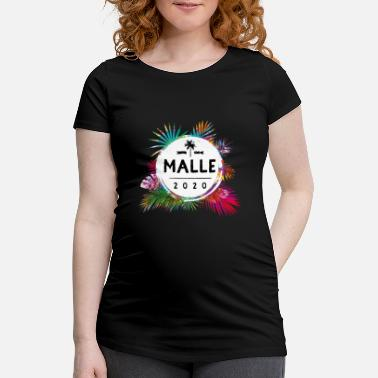 Malen 2020 colorful - Maternity T-Shirt