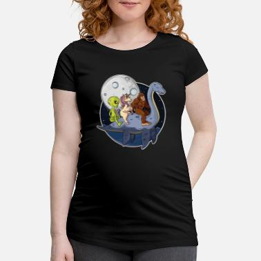 Lochness Lochness Bigfoot Unicorn Aliens Mythical Creature - Vente T-shirt