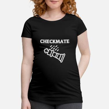 Video Checkmate - Schwangerschafts-T-Shirt