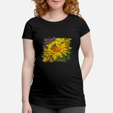Pollinate Hoverflies also pollinate the plants - Maternity T-Shirt