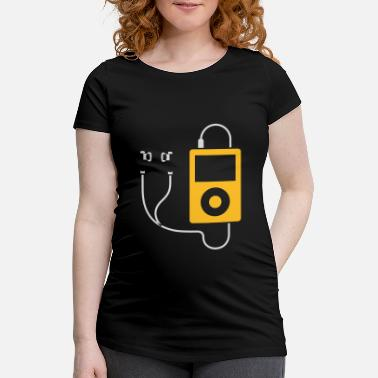 Mp3 / MP3 Player - Maternity T-Shirt