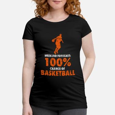État Week-end de basket - T-shirt de grossesse