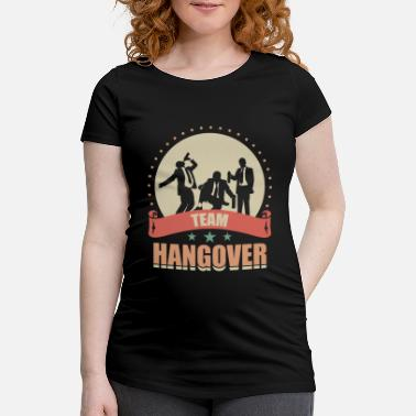 Marry JGA - Team Hangover - Maternity T-Shirt