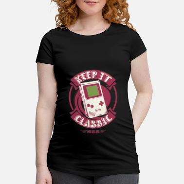 Game Gamer Classic Games Arcade Retro - Maternity T-Shirt