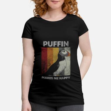 Flyvning Puffin Island Parrot Diver Bird North Gift - Vente-T-shirt
