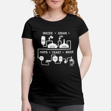 Beer For Craft Beer Lovers who Brew Their Beer at Home - Maternity T-Shirt