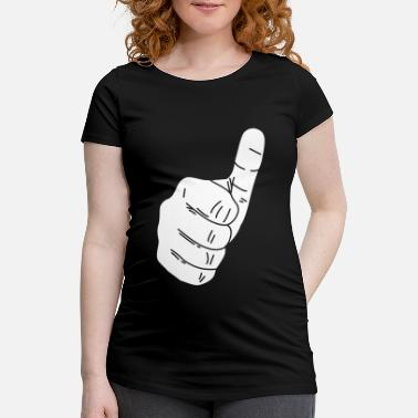 Thumbs Thumbs up - Thumbs up - Maternity T-Shirt