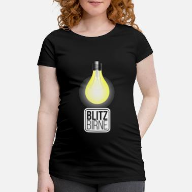 Clever Lightbulb Clever Clever - Gravid T-shirt