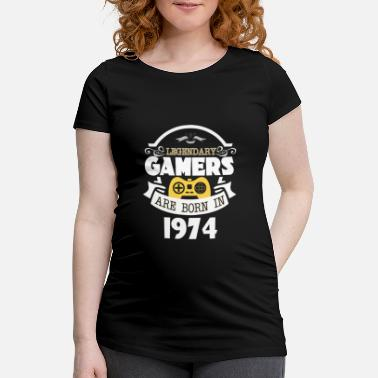 Legendary Legendary Gamers Are Born In 1974 - Maternity T-Shirt