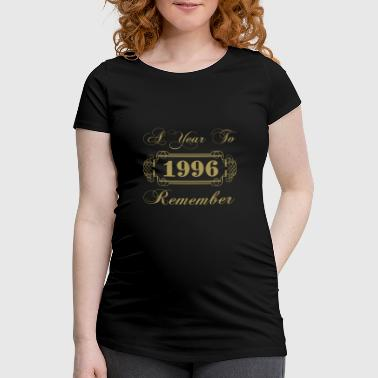 1996 A Year To Remember - Women's Pregnancy T-Shirt