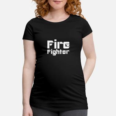 Fire Department Fire Fighter - Frauen Schwangerschafts-T-Shirt