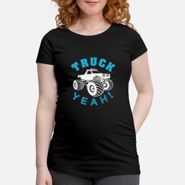 Monster Monster truck - Maternity T-Shirt