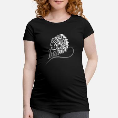 American Indian Indian - Maternity T-Shirt