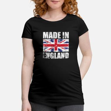 England Made in England with flag - Maternity T-Shirt