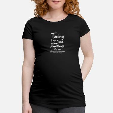 automobile - Maternity T-Shirt