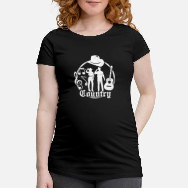 Countrymusic Country - Schwangerschafts-T-Shirt
