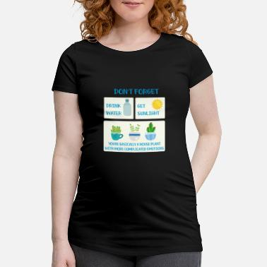 Emotion Emotionen - Schwangerschafts-T-Shirt