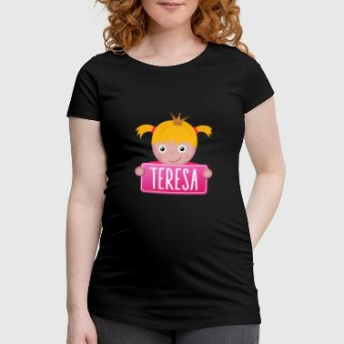 Teresa Little Princess Teresa - T-shirt de grossesse Femme