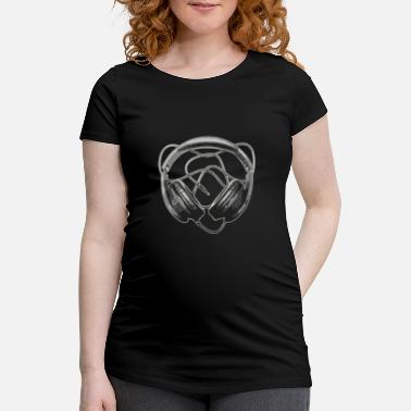 Dark Art Deep Dark Audio Art - Women's Pregnancy T-Shirt