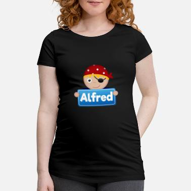 Alfred Little Pirate Alfred - Women's Pregnancy T-Shirt