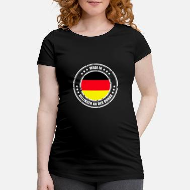 Danube DILLING IN THE DANUBE - Women's Pregnancy T-Shirt