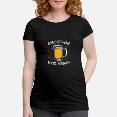 Smoothies Beer Smoothie - Women's Pregnancy T-Shirt