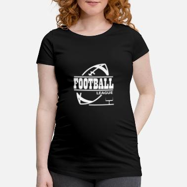 College Football Football League Football League College Équipe - T-shirt de grossesse
