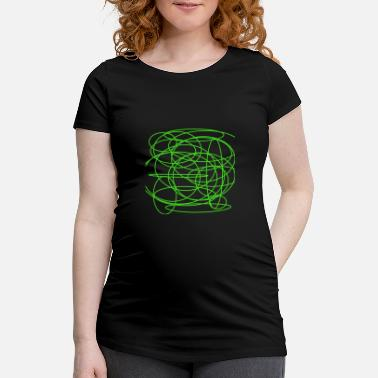 Rich Art Art picture green rich and noble - Women's Pregnancy T-Shirt