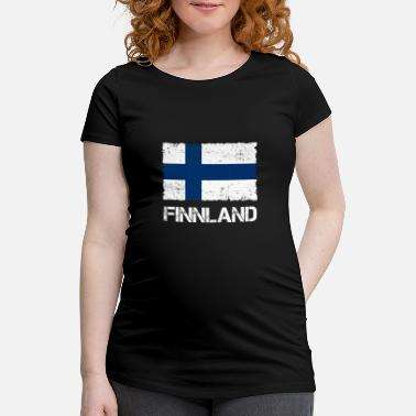 Used Look Finland Flag Used look - Gravid T-skjorte