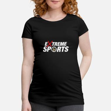 Extreme Sports Bike Bicycle Cycling Extreme Sports Gift - Camiseta premamá