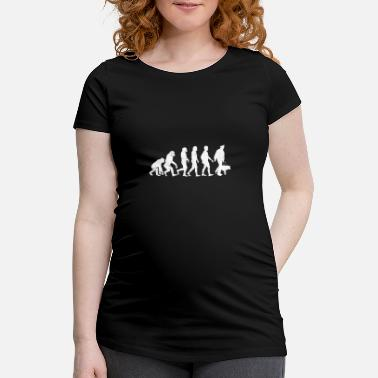 Canine Evolution Canine - Maternity T-Shirt