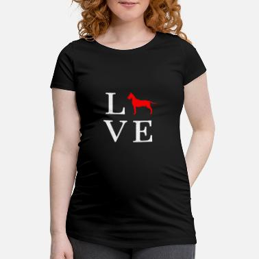 Great Dane Great dane Great Dane Gift - Vrouwen zwangerschap-T-shirt