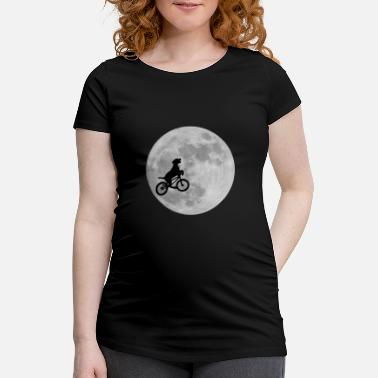 Dog Moon Dog in the moon - Women's Pregnancy T-Shirt