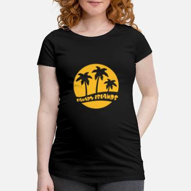 Canary Islands Canary Islands - Gran Canaria - Maternity T-Shirt