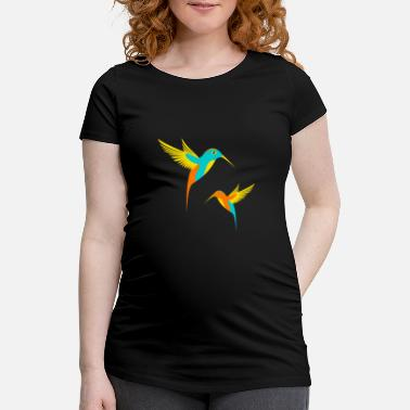 Hum humming-bird - Women's Pregnancy T-Shirt