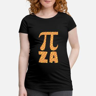 Pizza Pi Pizza Mathematik Mathe - Schwangerschafts-T-Shirt