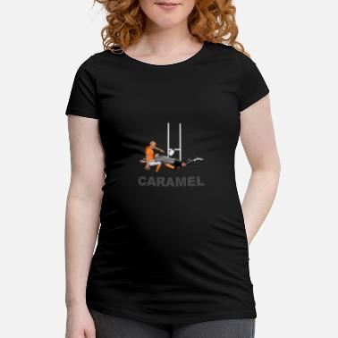 Lyon Rugby Toulousain Caramel Rugby - Maternity T-Shirt