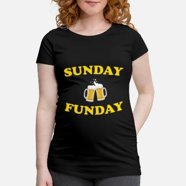 Sunday Funday Sunday Funday - Schwangerschafts-T-Shirt
