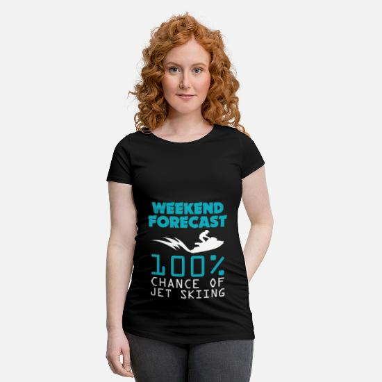 Journey T-Shirts - Jet Ski Gift - Holiday Travel Beach Quote - Maternity T-Shirt black
