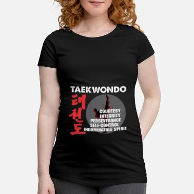 Kendo Taekwondo teach martial arts Tae kwon do do - Maternity T-Shirt