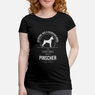 Lyckans Ost PINSCHER Guardian Angel Wilsigns - Gravid-T-shirt dam