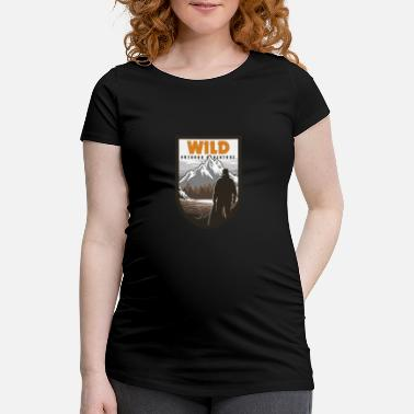 Outdoor Wilderness Outdoor Adventure - T-shirt de grossesse