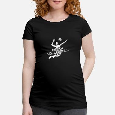 Beach Volley Beach volley - beach volley - volley - T-shirt de grossesse