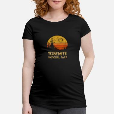 National Vintage Yosemite National Park California Tee Shirt - Maternity T-Shirt