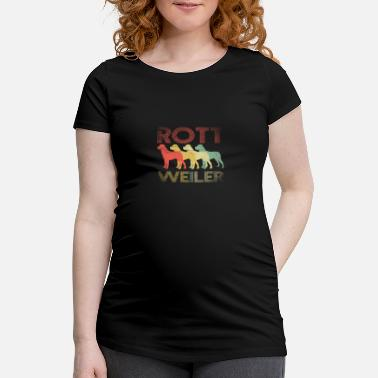 Animal Rottweiler guard dog - Maternity T-Shirt