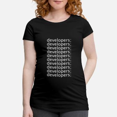 Develop Developers - Maternity T-Shirt