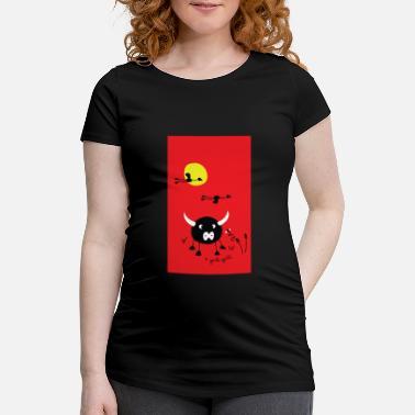 de1eed4e0cbd Camargue rouge-camargue-smartphone - T-shirt de grossesse Femme
