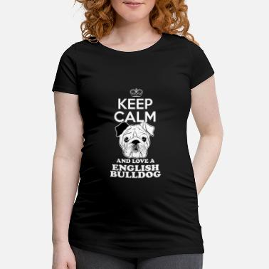 Bulldog English bulldog - Maternity T-Shirt