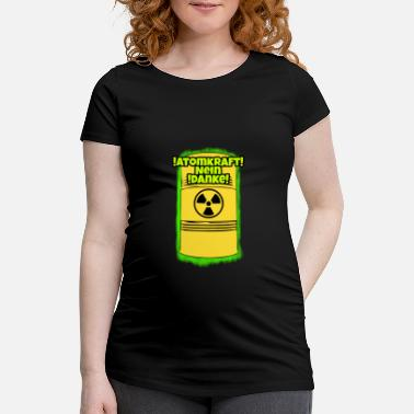 Nuclear Power nuclear power - Women's Pregnancy T-Shirt