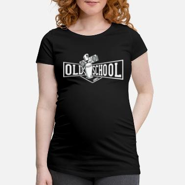 Old School Hiphop old school hiphop skjorte - Gravid T-skjorte